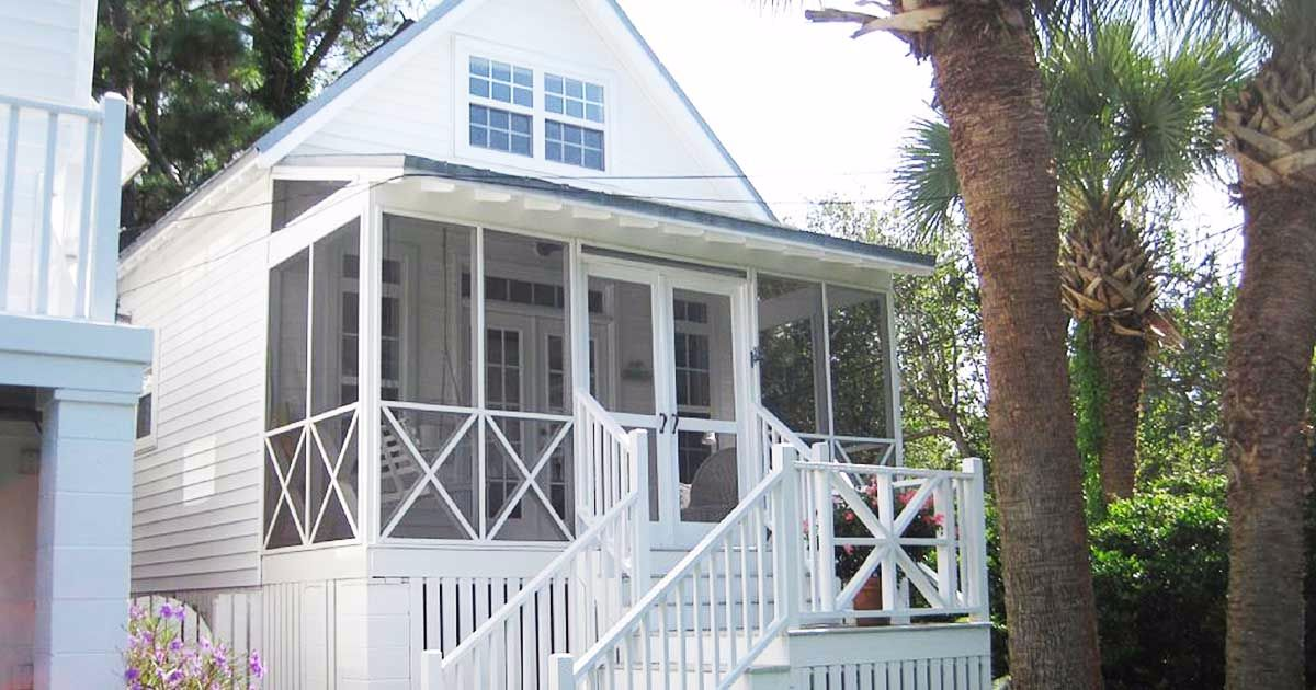 Step inside a pristine beach cottage – its charming